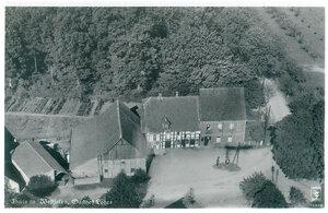 Historisches Luftbild Landgasthaus Lohre ca. 1930